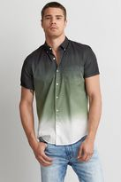 American Eagle Outfitters AE Short Sleeve Dip Dye Shirt