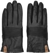 Mackage Black Lambskin Nira Gloves