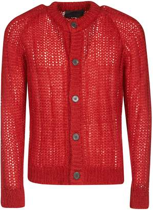 Prada Knitted See-through Cardigan