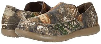 Crocs Santa Cruz Realtree Edge Slip-On (Khaki) Men's Shoes