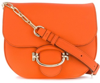 Tod's Foldover Top Shoulder Bag