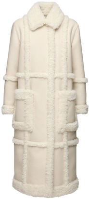 Stand Patrice Long Faux Shearling Coat