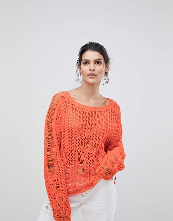 Diesel Laddered Knit