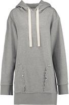 MM6 MAISON MARGIELA Cotton-jersey hooded sweatshirt