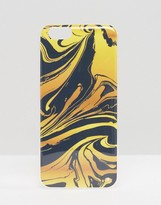 Signature iPhone 6 Case In Ink Marble Print