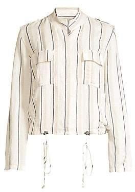 Rails Women's Rowan Striped Army Jacket