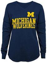 Juniors' Michigan Wolverines Split Tee