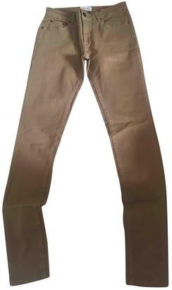 American Vintage \N Beige Cotton - elasthane Jeans for Women