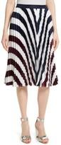Ted Baker Women's Alliee Rowing Stripe Pleat Skirt