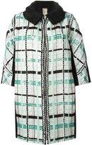 Antonio Marras sequin checked coat