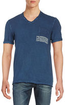 Buffalo David Bitton Short Sleeved V-Neck Tee