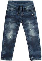 Hydrogen Kid Camouflage Printed Stretch Denim Jeans