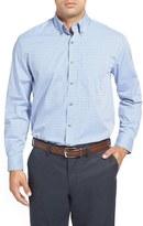 Cutter & Buck 'Richard' Classic Fit Dobby Plaid Sport Shirt (Big & Tall)