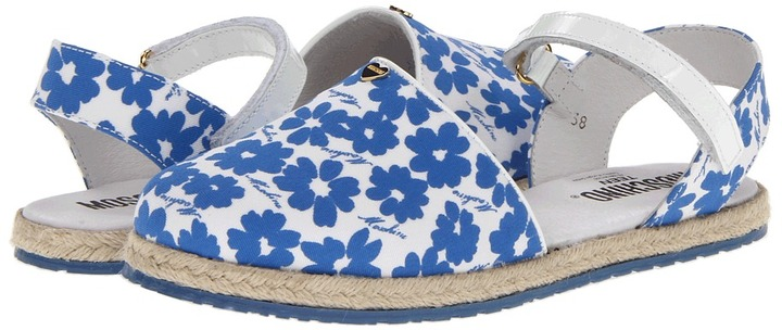 Moschino 25294 (Little Kid/Big Kid) (Blue) - Footwear