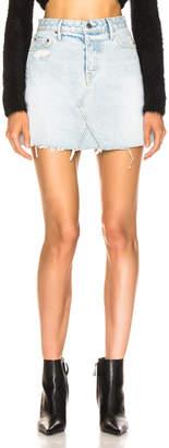 GRLFRND Eva A-Frame Skirt in Don't Look Back | FWRD