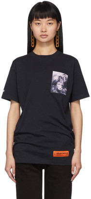 Heron Preston Black Heron Patch T-Shirt