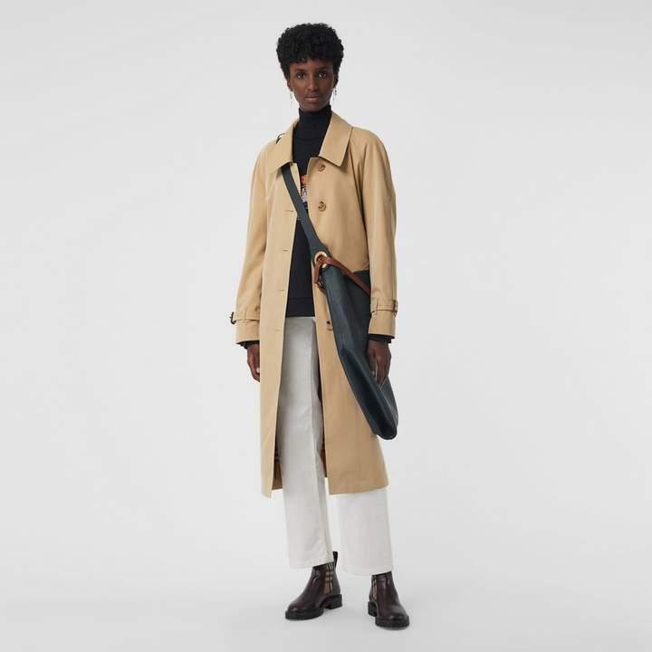 Burberry Side-slit Tropical Gabardine Trench Coat