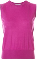 Agnona fine knit sleeveless jumper