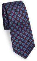 Kiton Square Medallion Silk Tie