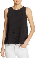 Generation Love Embellished Fringe Tank