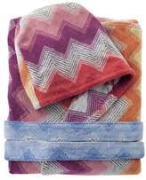 Missoni Home Selma Hooded Bathrobe, Multicolor Pink