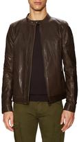 Belstaff Gransden Leather Racer Jacket