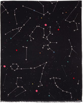 Paul Smith Black Milky Way Scarf
