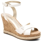 GUESS Madolyn Patent Wedge Sandal
