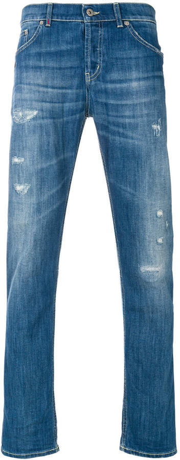 Dondup faded distressed jeans