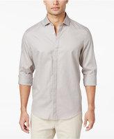 Alfani Men's Chevron Cotton Shirt, Only at Macy's