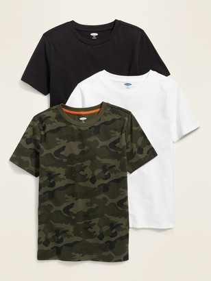 Old Navy Softest Crew-Neck Tee 3-Pack for Boys