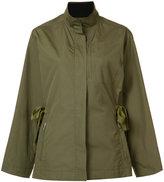 Grey Jason Wu - large biker jacket - women - Polyester - 0