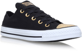 Converse Snake Toecap Low in BLACK OTHER