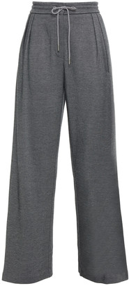 Ninety Percent Organic Cotton-blend Jacquard Wide-leg Pants
