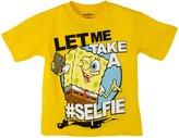 Nickelodeon SBSBS32) SpongeBob Little Boys Super Fun Tee Shirt in Size: