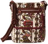 Sakroots Small Flap Messenger Cross Body Handbags