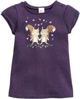 H&M Fine-knit Dress - Dark purple - Kids