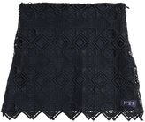 N°21 Lace & Poplin Skirt