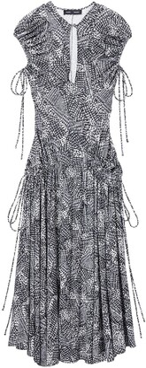 Proenza Schouler Sleeveless Matte Jersey Dress