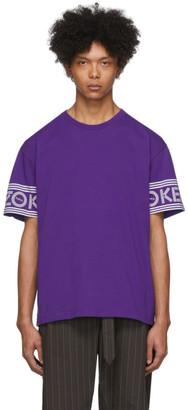 Kenzo Purple Logo T-Shirt