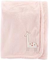 Carter's Baby Girl Giraffe Plush Blanket