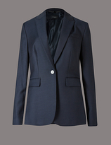 Autograph Panel Pocket Suit Jacket