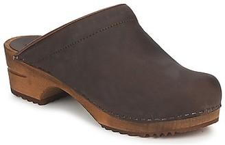 Sanita CHRISSY OPEN women's Clogs (Shoes) in Brown