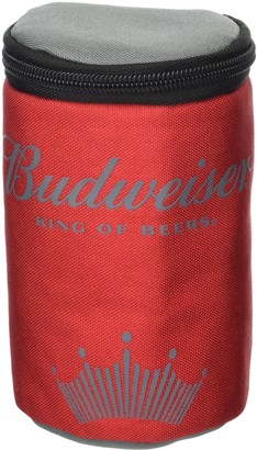 Buxton Budweiser by Men's Imprint Insulated Can Holder Accessory