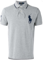 Polo Ralph Lauren logo patch polo shirt