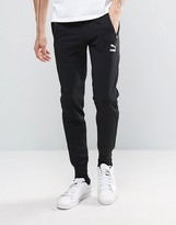 Puma Tapered Joggers In Black Exclusive To Asos