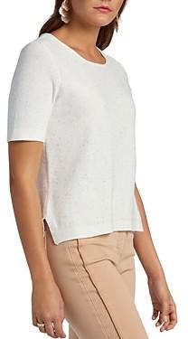 Basler Cotton-Blend Sequined Sweater