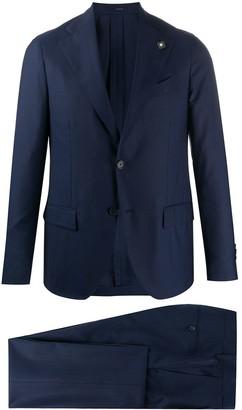 Lardini Slim Fit Fine Knit Suit
