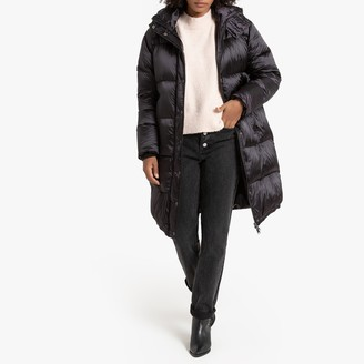 La Redoute Collections Long Padded Coat with Hood