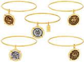 Elizabeth Taylor The S/5 Goldtone Coin CharmBangles